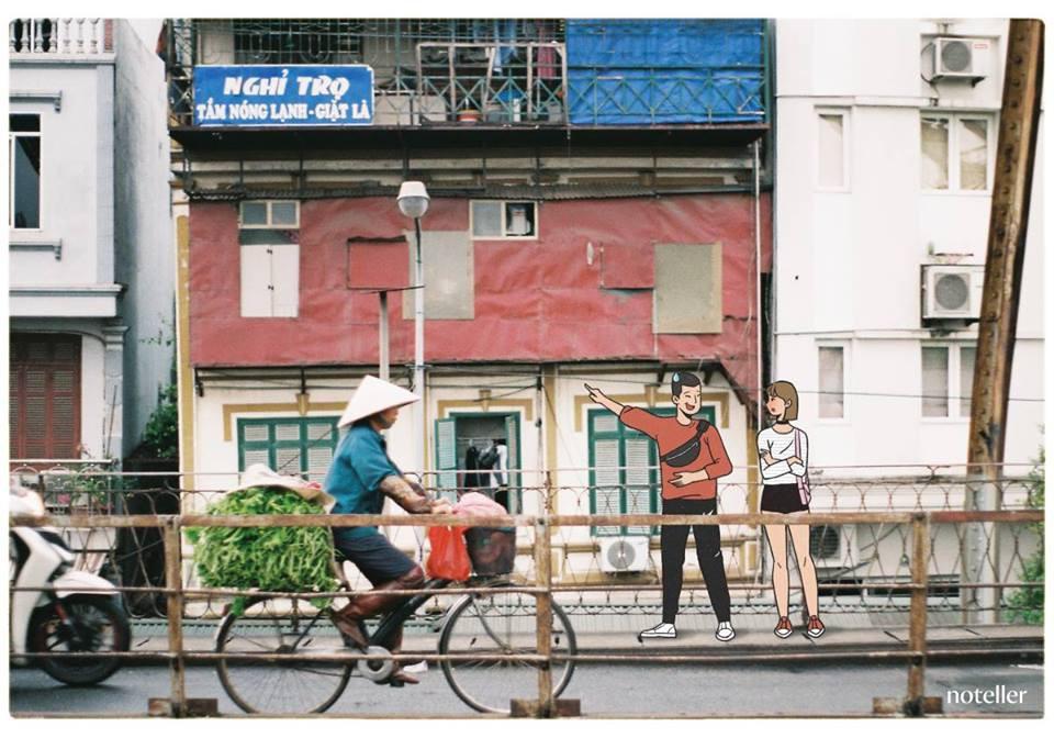 Hà Nội thật đáng yêu quá đỗi trong những khung hình mộc mạc ngay trên đường phố.