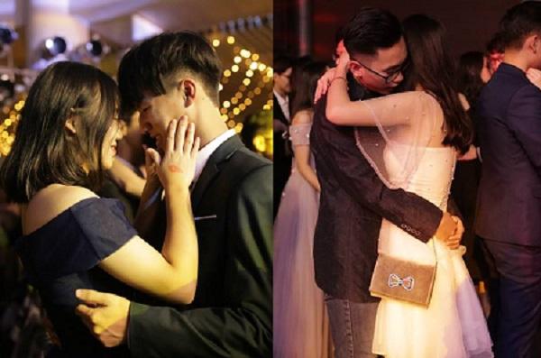 """""""Tan chảy"""" với nụ hôn của các cặp đôi trong prom thường niên của học sinh trường Ams"""