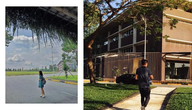 """Muôn góc """"sống ảo"""" lớn nhỏ ở ngôi trường đại học siêu hoành tráng tại Bình Dương"""