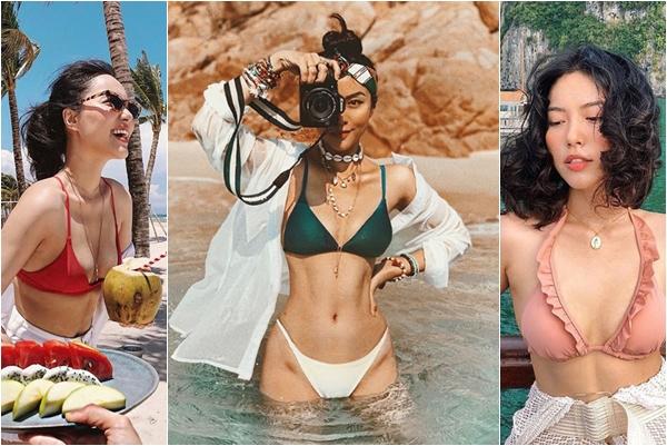 """""""Em gái sinh đôi"""" của Tăng Thanh Hà bức xúc vì bị nghi có rãnh bụng số 11 cực hiếm chỉ nhờ photoshop?"""