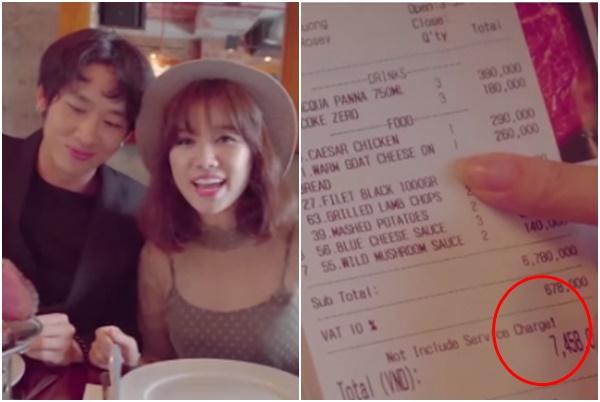 """Chi 7 triệu mời bạn diễn đi ăn, Hari Won bị chửi phí tiền """"sao không từ thiện cho người nghèo?"""""""