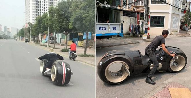 """Siêu mô tô """"viễn tưởng"""" Tron Light Cycle 2,7 tỷ đồng trên đường phố Hà Nội khiến cộng đồng xôn xao"""