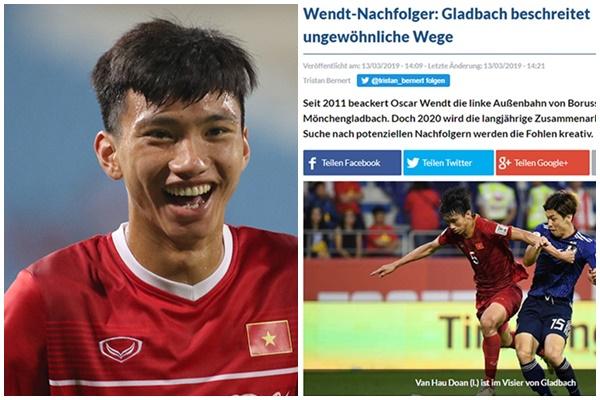 Rộ tin Đoàn Văn Hậu đang được đội bóng hàng đầu của nước Đức cân nhắc chiêu mộ
