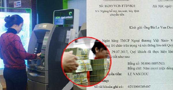 Lỡ chuyển nhầm tiền vào tài khoản của người khác: Làm cách nào để lấy lại không tốn 1 xu?