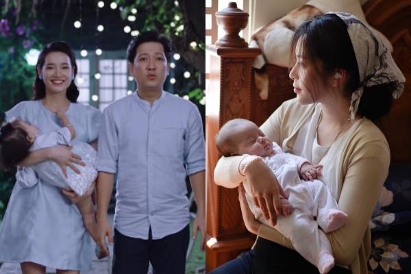 Trường Giang vừa thông báo Nhã Phương sinh con, Nam Em cũng khoe ngay em bé kháu khỉnh