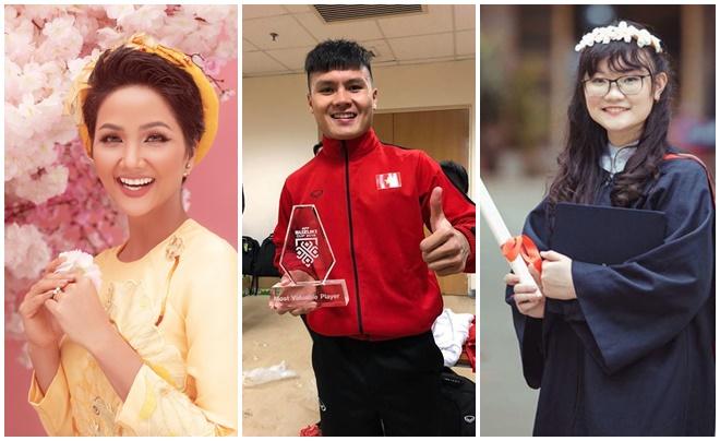 Quang Hải, H'Hen Niê sắp được tuyên dương trong Top 10 Gương mặt trẻ Việt Nam tiêu biểu năm 2018
