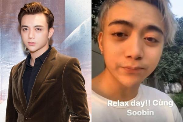 """Lộ diện hình ảnh tiều tuỵ, phờ phạc, Soobin Hoàng Sơn khiến fans không khỏi hoang mang: """"Ai xài mà hao thế?"""""""