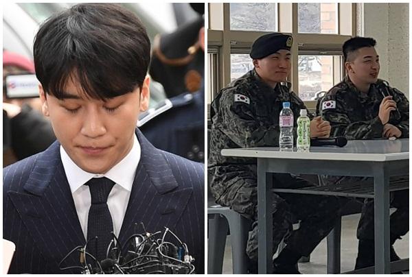 Giữa scandal bê bối của em út Seungri, Taeyang và Deasung vẫn vui vẻ, cười đùa thản nhiên?