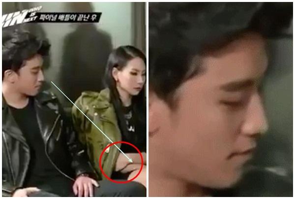 """Clip gây sốt: Seungri dùng ánh """"bẩn"""" nhìn ngắm đôi chân của CL(2NE1) thô lỗ"""