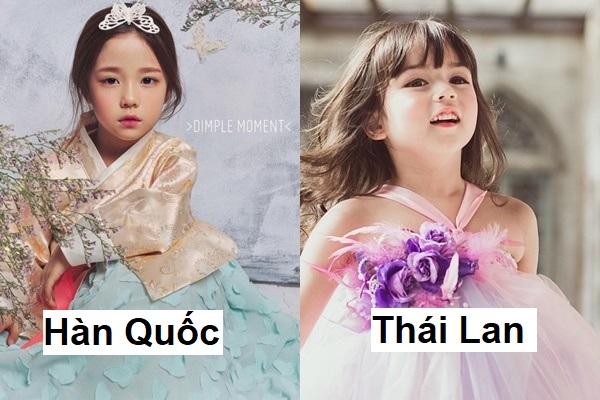 """Đọ sắc các """"tiểu mỹ nhân"""" bậc nhất châu Á: đại diện Việt Nam thần thái xuất sắc, đẹp từ trong trứng"""