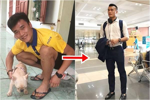 Sau 1 năm, Bùi Tiến Dũng từ cậu bé nghèo trở thành chàng thủ môn hàng hiệu xa hoa
