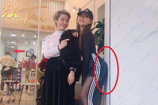 """Khoe ảnh tươi rói cùng vòng 3 sexy, bạn gái Quang Hải không ngờ bị antifan mắng: """"Ưỡn vừa thôi, chỉnh cong cả tường""""!"""