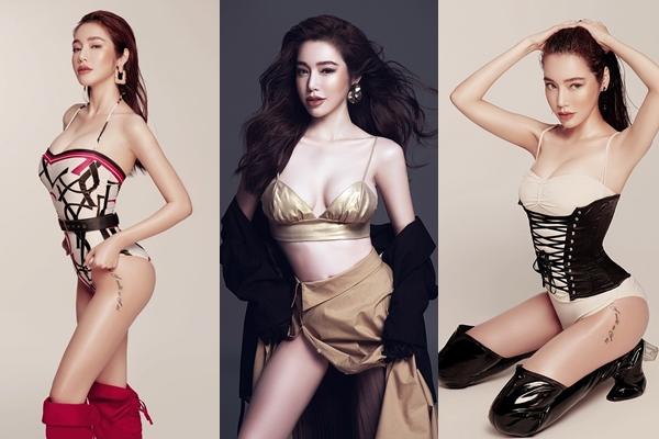 """Tung bộ ảnh mới, Elly Trần chính thức cạnh tranh ngôi vị """"vòng eo con kiến"""" với Ngọc Trinh"""