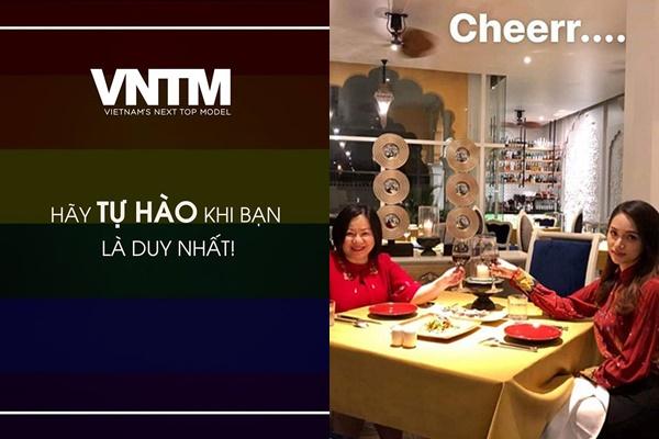 Hương Giang lộ bằng chứng sẽ trở thành Host của VNTM và The Face mùa sau?