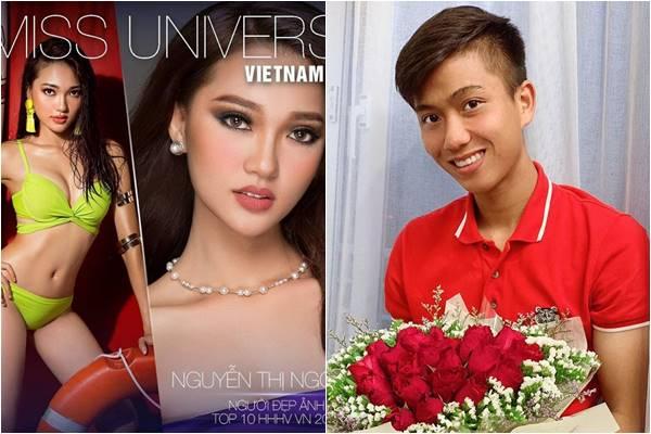 Bạn gái tin đồn của Phan Văn Đức bất ngờ thông báo thi Hoa hậu Hoàn vũ 2019?
