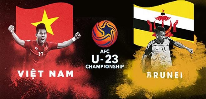 Link xem trực tiếp trận đấu U23 Việt Nam gặp U23 Brunei trong khuôn khổ vòng loại U23 châu Á 2020