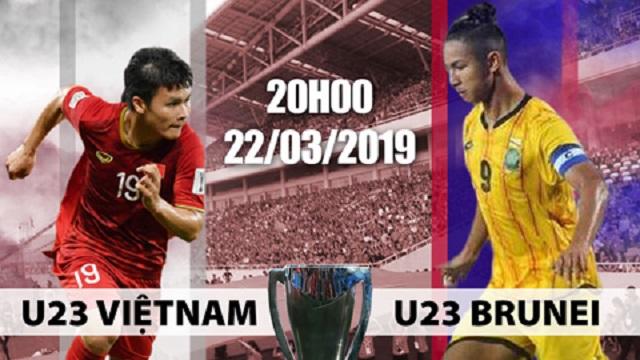 20h ngày 22/3, U23 Việt Nam ra quân vòng loại U23 châu Á gặp U23 Brunei: Xem trực tiếp ở đâu?
