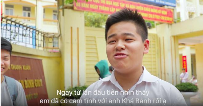Học sinh nói gì về việc đua nhau tôn sùng nhân vật Khá Bảnh như idol?