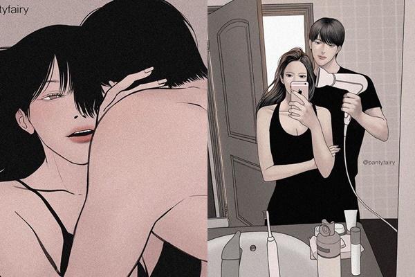 Bộ ảnh: Ước gì em được gặp anh sớm hơn, bởi mình nên hạnh phúc kể từ lúc đó mới phải
