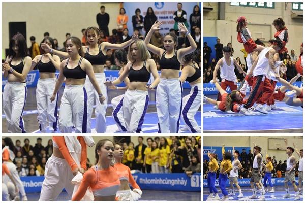 Sinh viên Hà Nội đã mắt tại VUG Dance Battle 2019 với những màn vũ đạo nóng bỏng của dàn gái xinh các trường ĐH lớn