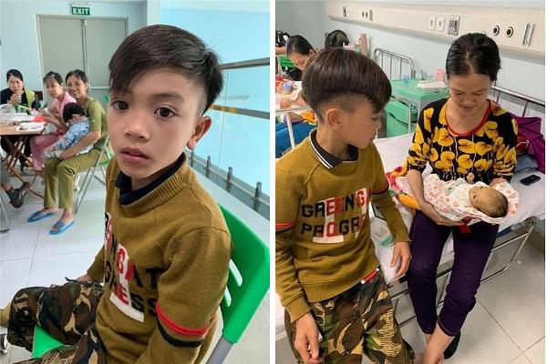 """""""Phượt thủ"""" 13 tuổi ăn """"gan hùm"""" phóng xe đạp mất phanh vượt hơn 100km từ Sơn La xuống Hà Nội thăm em trai nằm viện"""