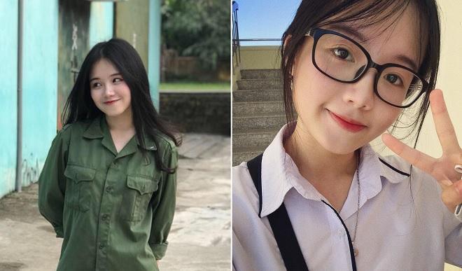 """Nữ sinh năm nhất ĐH Ngoại thương nhận """"bão like"""" từ bức ảnh học quân sự, lộ danh tính là học sinh giỏi"""
