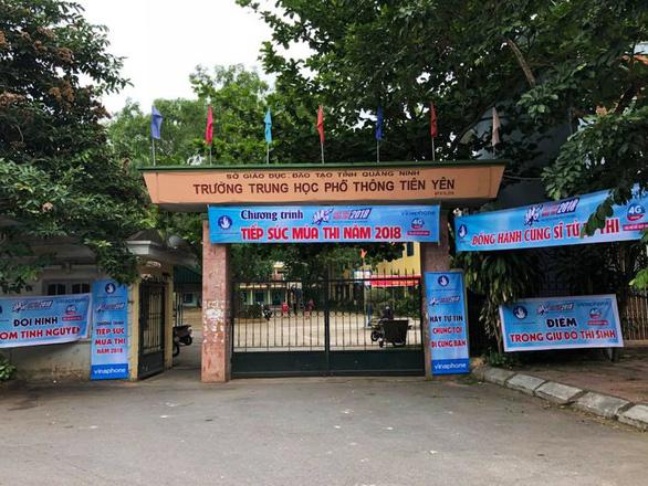 Sau 3 ngày tự ý nghỉ học, 342 học sinh trường THPT Tiên Yên đã trở lại lớp học