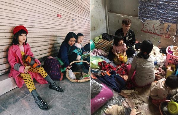 Ai cũng phải xót xa khi ghé thăm căn nhà tạm bợ của cô bé vô gia cư 6 tuổi chẳng khác gì fashionista nhí sành điệu