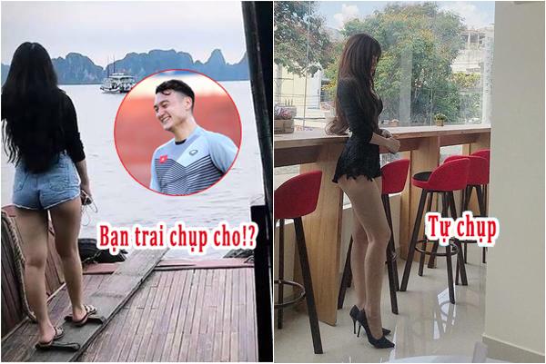"""Tìm thủ môn giỏi thì được, chứ bạn trai chụp ảnh """"có tâm"""" thì đừng tìm Đặng Văn Lâm"""