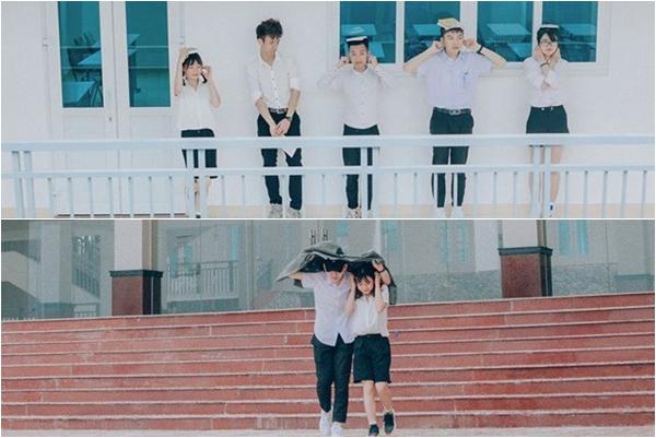 """Bắt trend """"sống ảo"""" concept thanh xuân phải tới ngay ngôi trường đẹp như phim Hàn Quốc này"""