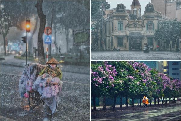 """Chào Hà Nội tháng 4, chào """"điệu valse"""" của cơn mưa mùa hạ, chào """"lời nói dối"""" của thanh xuân"""