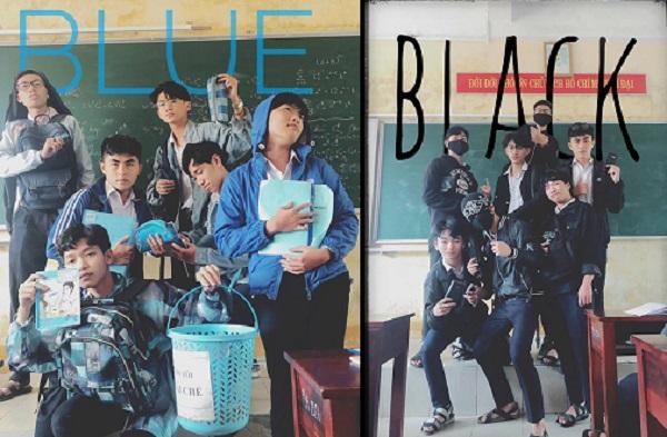 """Đám bạn đi học mà cứ như boygroup chụp bìa báo, ngày nào cũng hẹn nhau mặc """"ton sur ton"""" ấn tượng"""