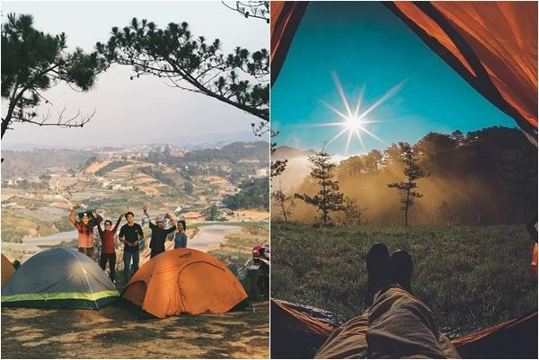 """Thú vui mới của các """"con chiên"""" du lịch 2019: Lên Đà Lạt cắm trại, săn mây"""