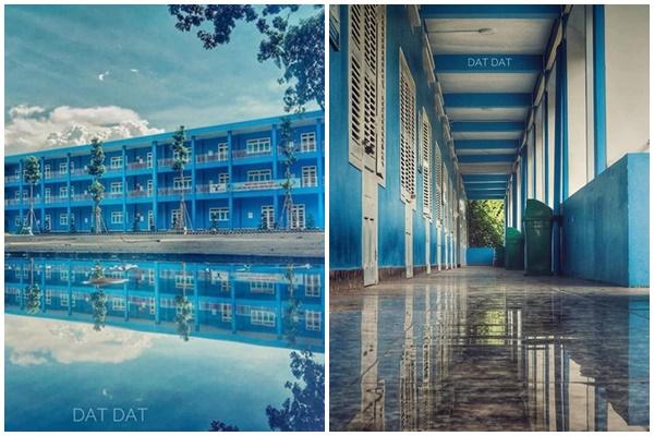 Xuýt xoa ngây ngất trước ngôi trường đại học xanh biếc một màu như trong truyện cổ tích