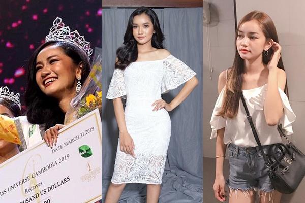 Tân Hoa hậu Campuchia bị chê mặt như học sinh cấp 2