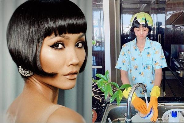 """Mái tóc mới nâng tầm nhan sắc H-Hen Niê hóa ra lại có tên gọi """"dễ thương"""" thế này"""