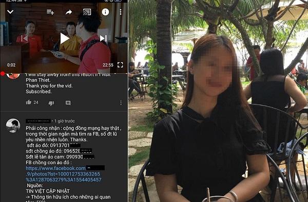Tìm ra Facebook nữ nhân viên áo đỏ của resort Bình Thuận lừa tiền, gọi bảo vệ đánh Khoa Pug