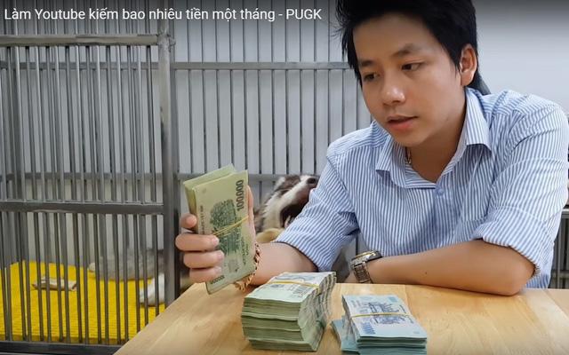 """Kiếm tiền trên YouTube có khó không mà Khá Bảnh, Khoa Pug... """"mang tiếng"""" thu nhập tiền tỷ mỗi tháng từ kênh này?"""