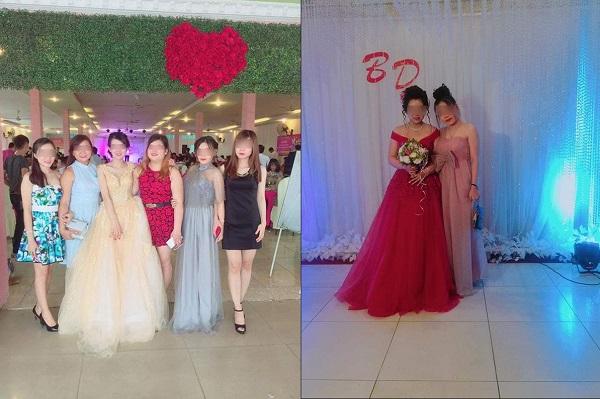 Bạn bè ăn mặc lồng lộn, trang điểm đẹp hơn cả cô dâu khiến quan khách đau đầu hỏi: Đám cưới của ai vậy, ai là cô dâu?
