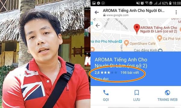 Trung tâm tiếng Anh Aroma, Aroma spa, Aroma hotel.... liên tiếp bị vote 1 sao: CĐM xin hãy tỉnh táo!