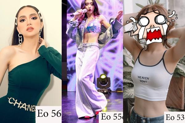 """Người mỏng như Hương Giang hay thánh giảm cân như Hòa Minzy cũng không đọ lại được vòng eo của """"hotgirl"""" này"""