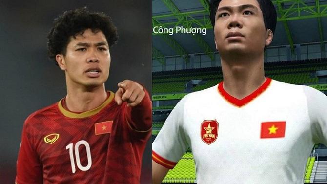 Bất ngờ xuất hiện Công Phượng trong FIFA 19 sau hơn 10 năm cầu thủ Việt Nam lần đầu có mặt trong game