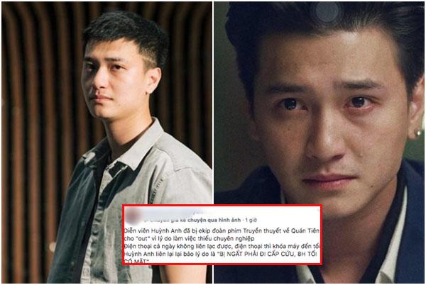 """Chứng nào tật nấy: Huỳnh Anh bị nhà sản xuất chỉ trích """"cạch mặt"""" vì thái độ chảnh chọe vô trách nhiệm"""