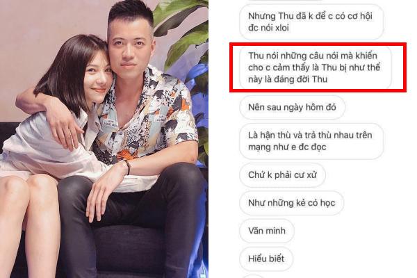 """Lộ tin nhắn Lưu Đê Ly thanh minh việc """"giật chồng"""", sân si với con riêng, tố vợ cũ không biết điều?"""