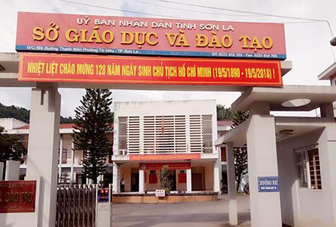 Ảnh 2: Sửa điểm thi ở Sơn La