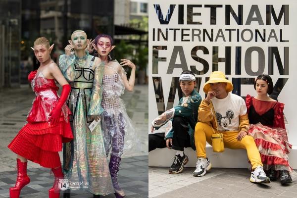 Khó hiểu với những bộ cánh street style ngày 1 VIFW : sự kiện thời trang mà cứ ngỡ lễ hội Haloween