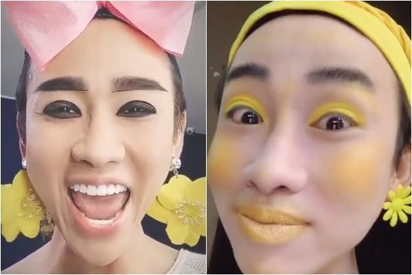 Hải Triều gây sửng sốt với màn make-up hóa vàng, nhìn cứ tưởng đang quảng cáo nước chanh