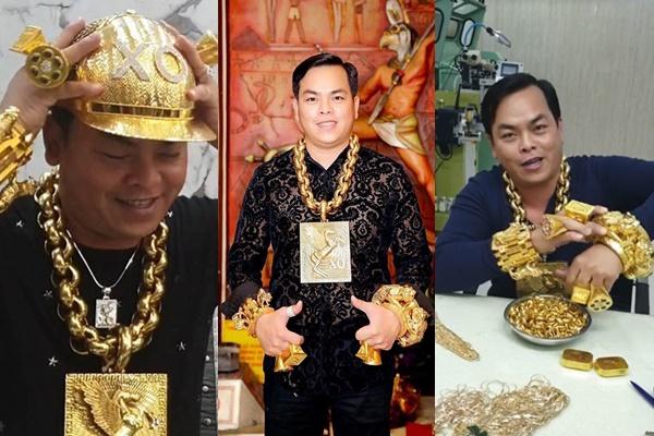 Điểm lại bộ sưu tập vàng của Phúc X.O: Mũ đúc vàng 24K, giầy dép cá sấu, đồng hồ nhiều tỷ...