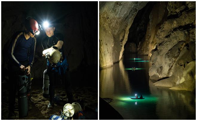 Phát hiện hệ thống hang ngầm mới tại hang Sơn Đoòng: Cả một thế giới khác nằm sâu dưới nước?