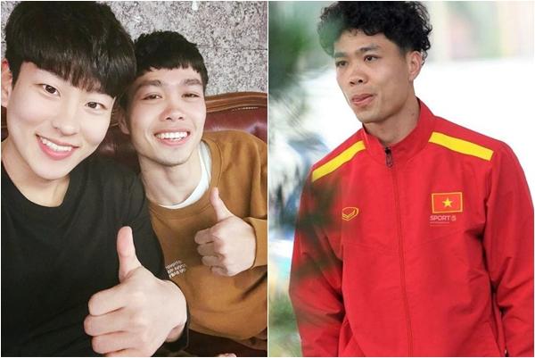 """Sang Hàn Quốc có khác, chỉ cần đi cắt tóc thôi Công Phượng cũng sắp thành """"idol"""""""